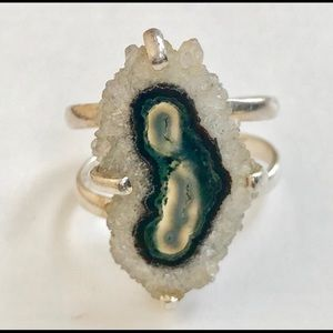 Jewelry - Natural agate ring